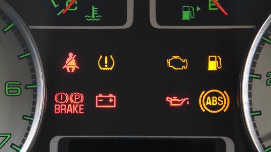 Car Warning Light Symbols